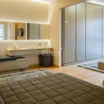 Luxury houses for sale with big green area in Istanbul Beylikduzu