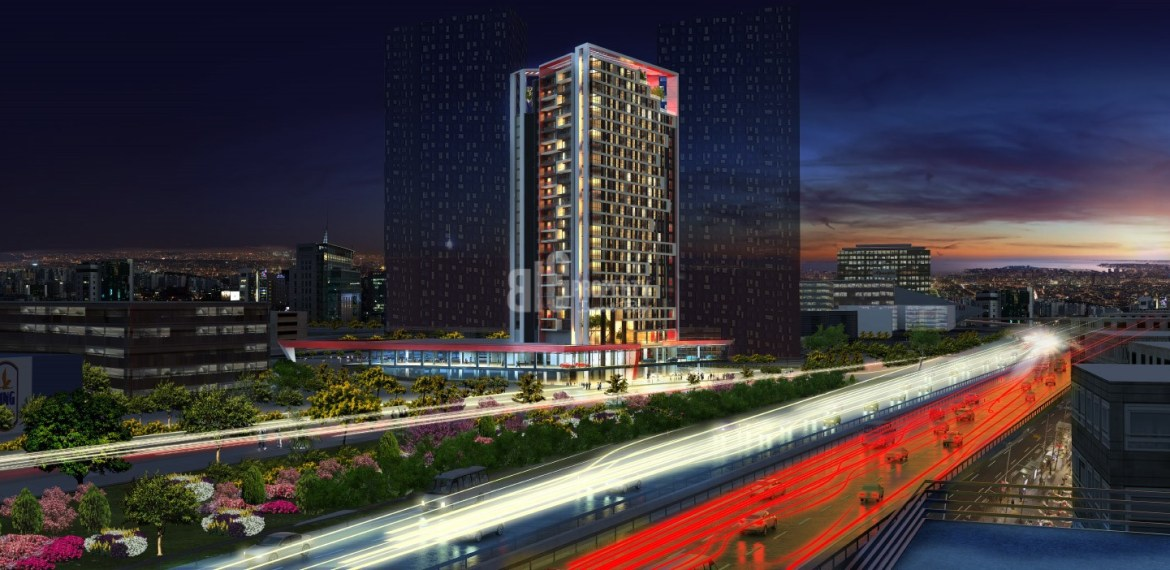 Quality flats for sale near the most biggest mall of Istanbul