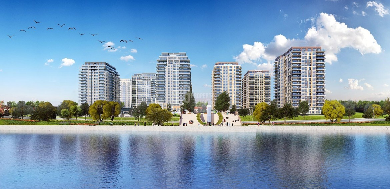 Your Dream Homes for Sale Wonderful Bosphorus and Marina View in Zeytinburnu İstanbul