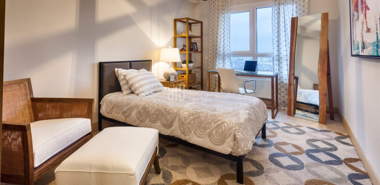 sample apartment of nurol park residence for sale gunesli