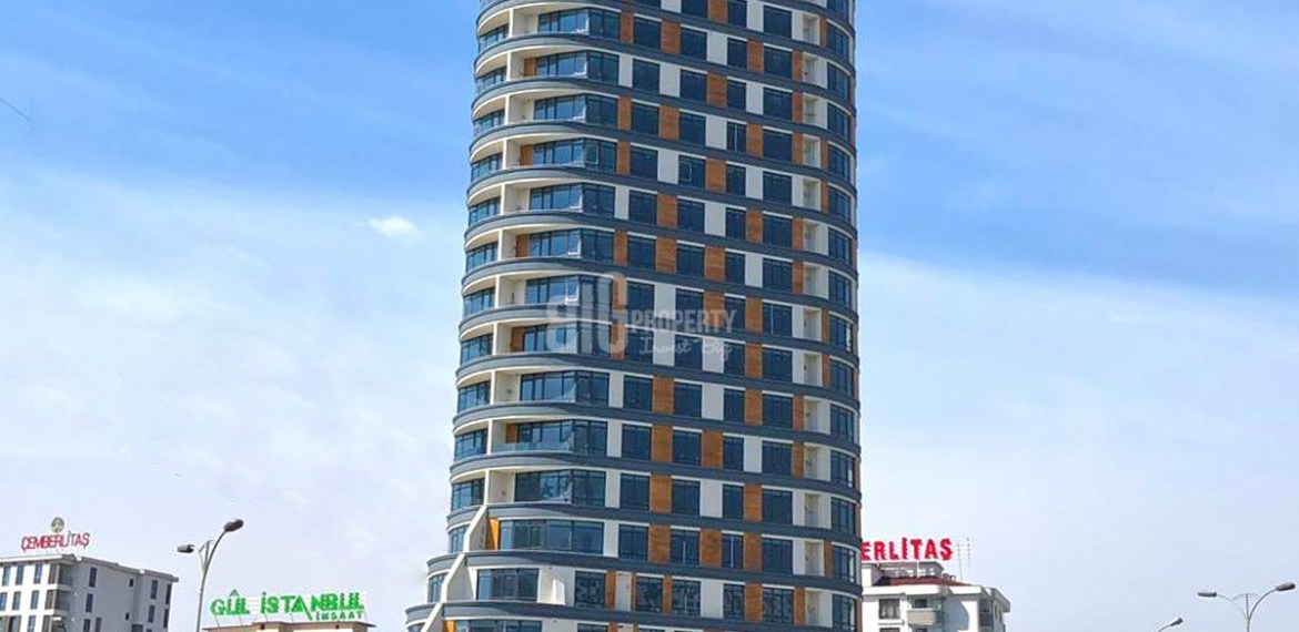 New Dizayn tower close to E-5 For Sale in Esenyurt İstanbul