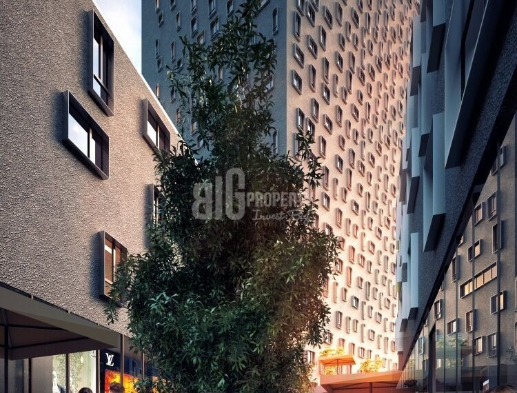 City center hotel apartments with rent guarantee for sale in İstanbul