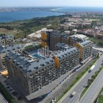 Magnificent Lake and Canal view family citizenship aparments for sale in Avcilar İstanbul