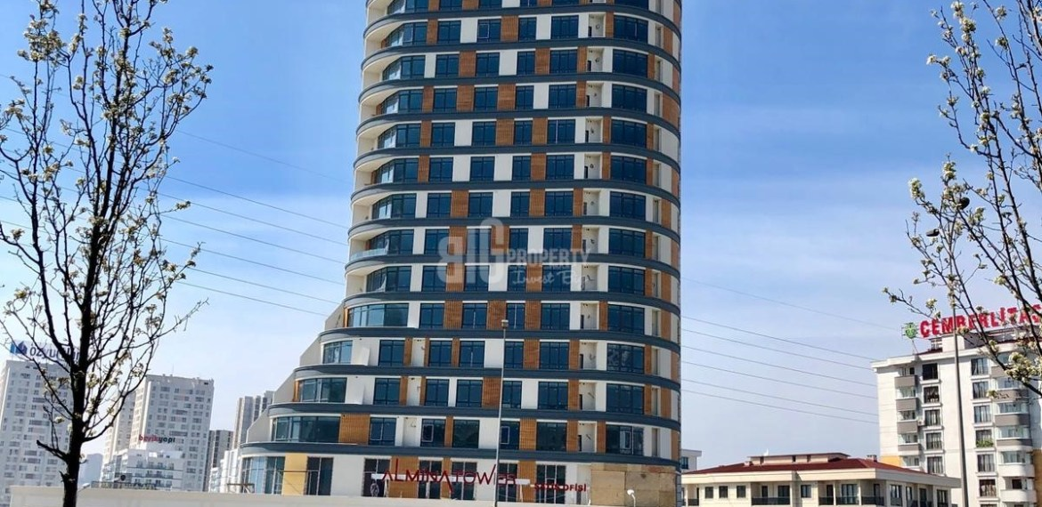 sample apartments pictures of almina towers in esenyurt