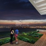 Big Terraca citizenship apartments with sea view for sale Buyukcekmece İstanbul