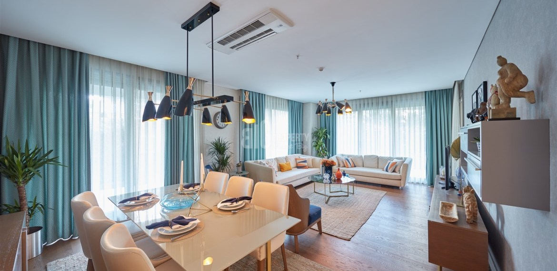 Biggest City center flat for sale Maslak İstabul