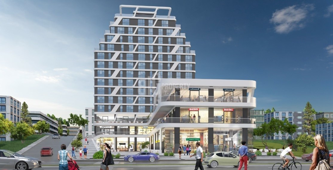 Center of Halkali real estate with advatage resale price for sale istanbul Kucukcekmece