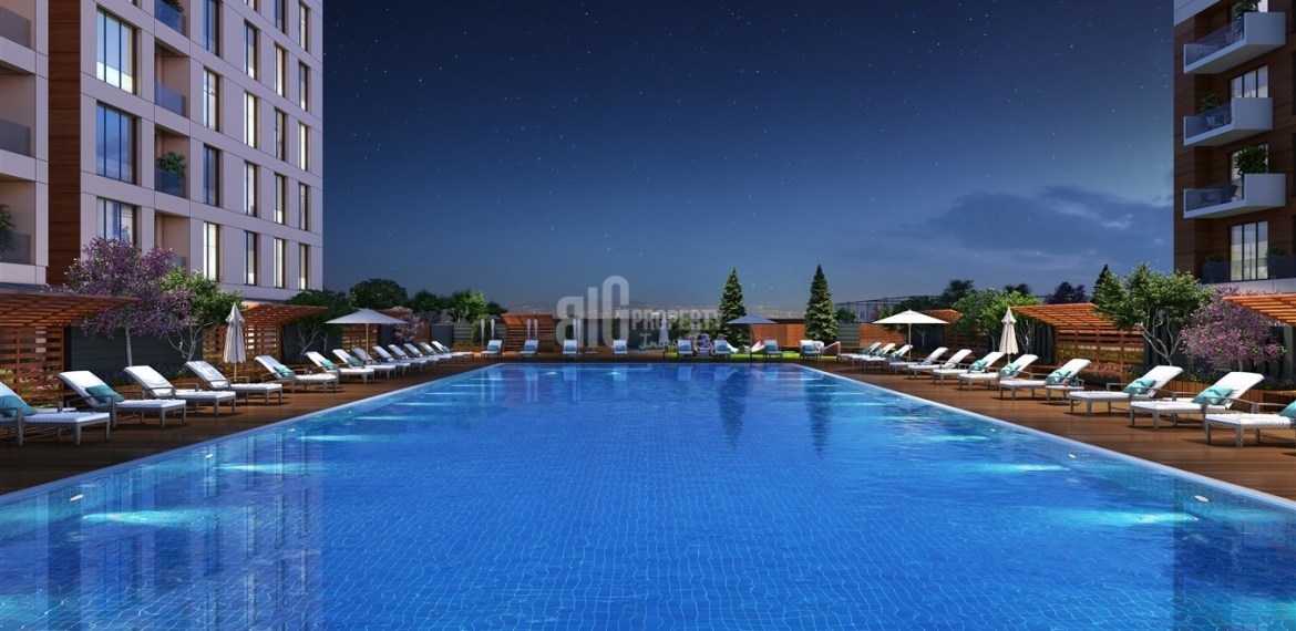 Comfortable citizenship flats with family Lifestyle for sale bahcesehir İstanbul turkey