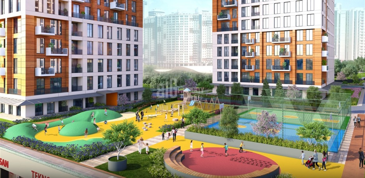 Comfortable residence with family Lifestyle for sale Esenyurt İstanbul