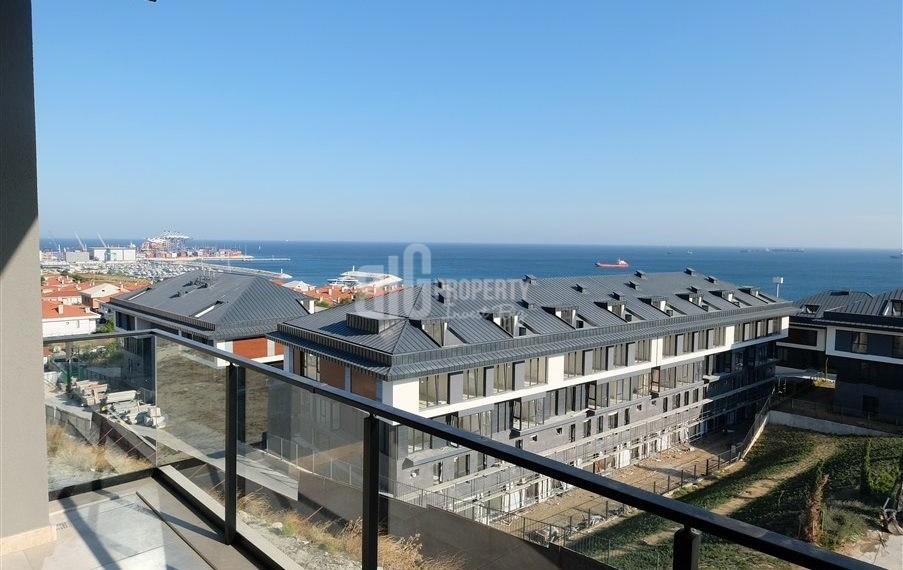 Full Sea view ready apartments near to marina for sale Beylikduzu İstanbul Turkey