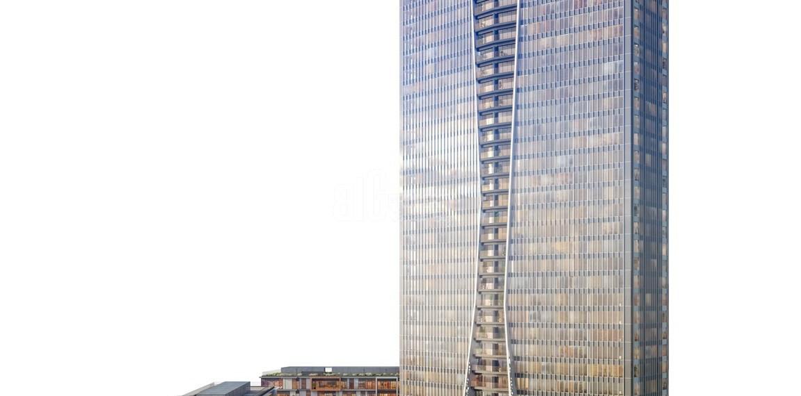 High Tower with horizontal boshphorus view in sisli İstanbul