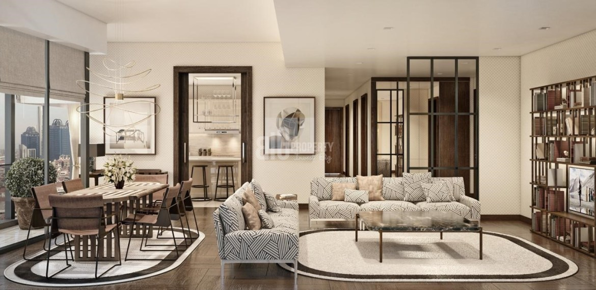 High towers citizenship property with horizontal boshphorus view in Bomonti İstanbul