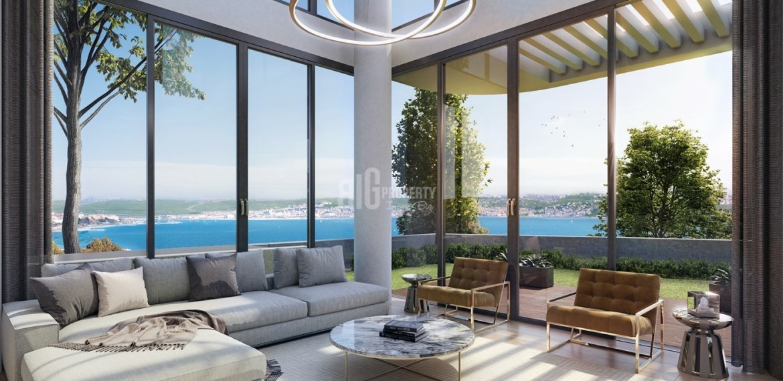 buying home in istanbul Marina 24 Seashore houses for sale istanbul buyukcekmece