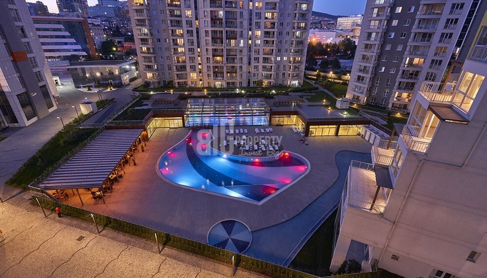Buying home in turkey aqua houses in city center of istanbul asian side