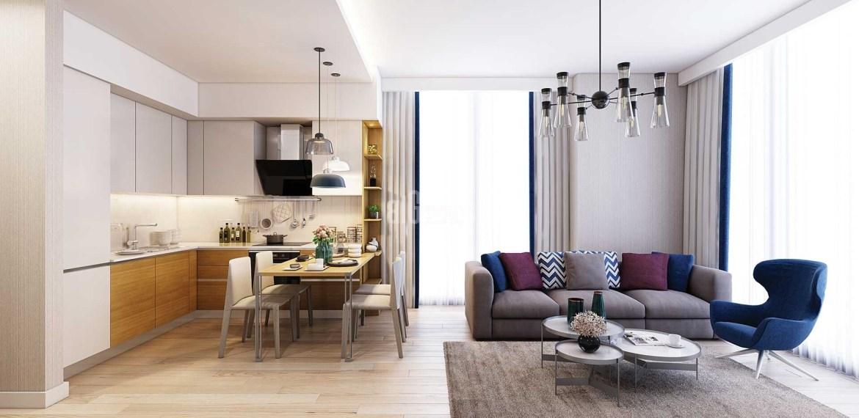 Buying properties in istanbul luxury designe apartment in basin ekspres gunesli istanbul