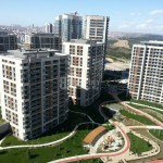 Luxury houses for sale with wonderful city view near to highway in Turkey