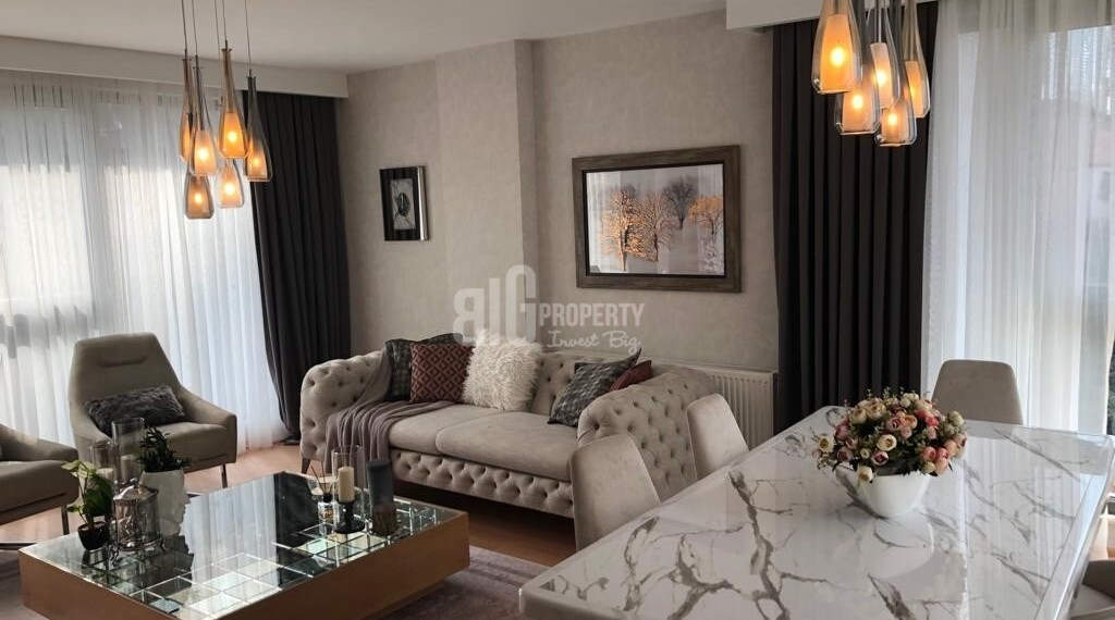 Panoramic city view real estate for sale Eyup İstanbul Turkey