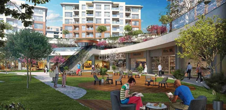 citizenship properties for sale eston sehir koru peacefull location natural quality family apartments for sale Istanbul Basaksehir