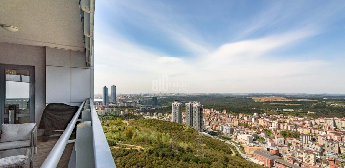 maslak 1453 3 rooms apartments view