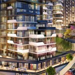 turkish citizenship apartments in forev modern Panoramic city view residence for sale Eyup İstanbul turkey