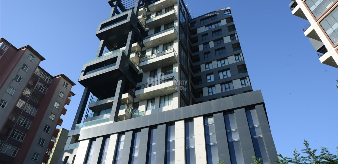buy apartments in mevsim istanbul City Center Modern Architecture Family Concept Property in Kagithane İstanbul