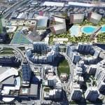 general plan of sheraton hotel-akbati shopping mall – Akkoza-Garanti Koza-Koza Park in İstanbul Bahcesehir
