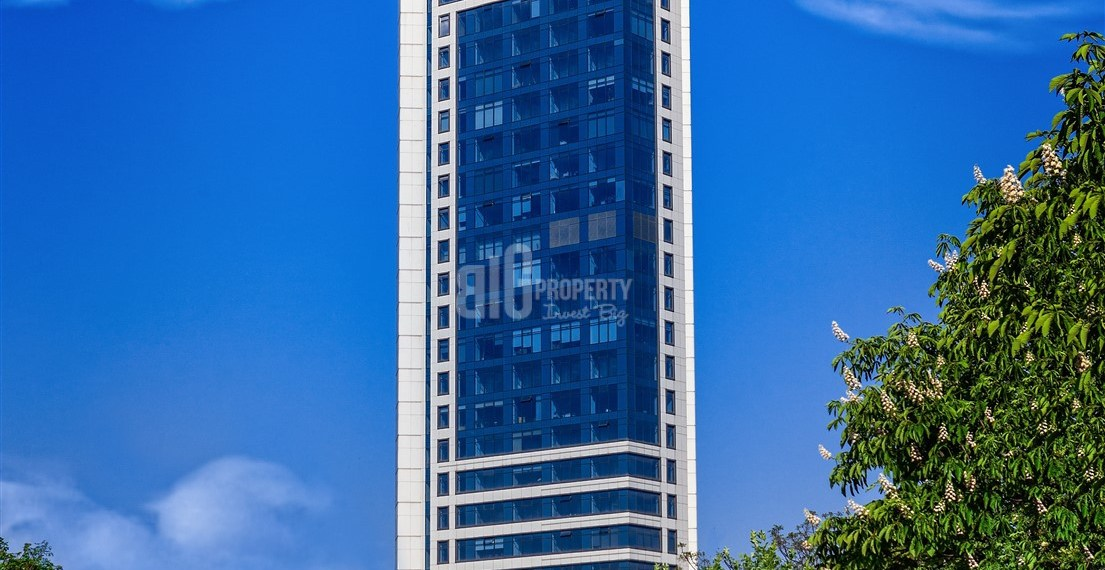iconic tower in city center for sale in sisli istanbul