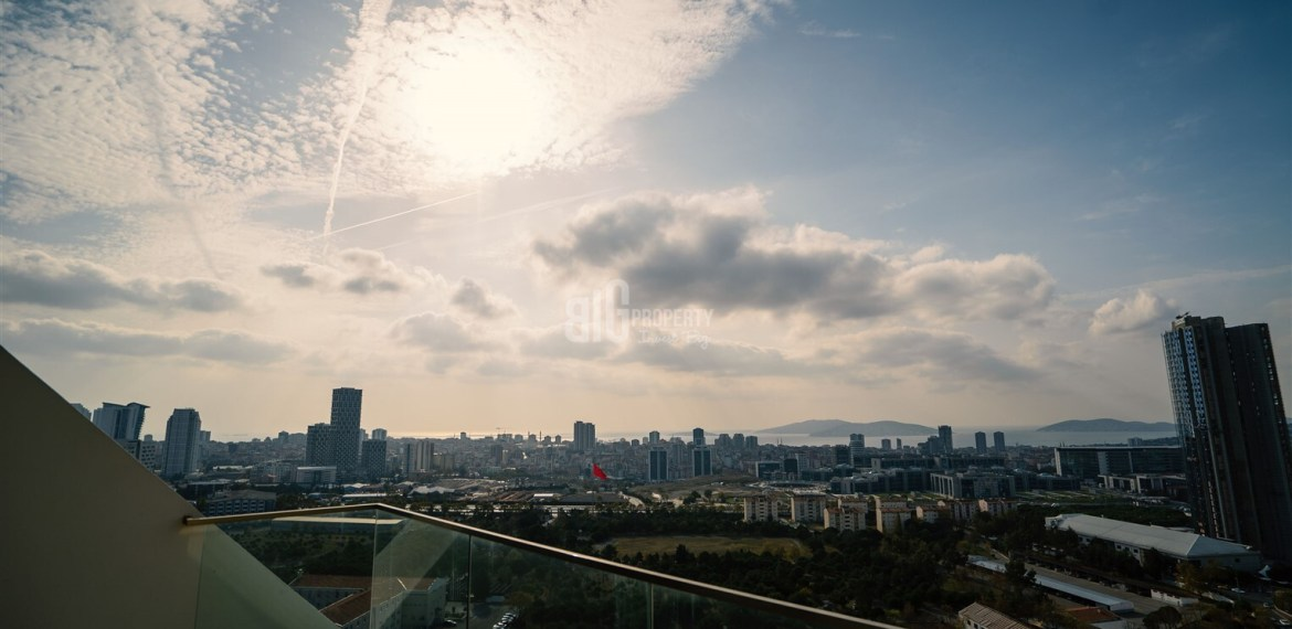 Asian Side Symbol dizayn properties for sale sea and ısland view asian side of istanbul Kartal