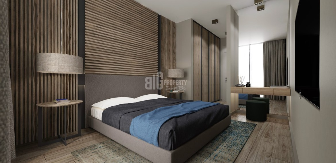Old Historical city Concept apartments with sea view for sale Istanbul Beylikduzu