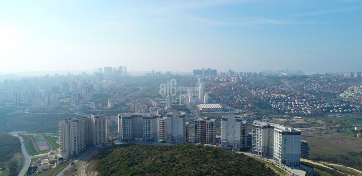 buying home in istanbul sky bahcsehir Key ready natural elit project for sale Basaksehir Istanbul