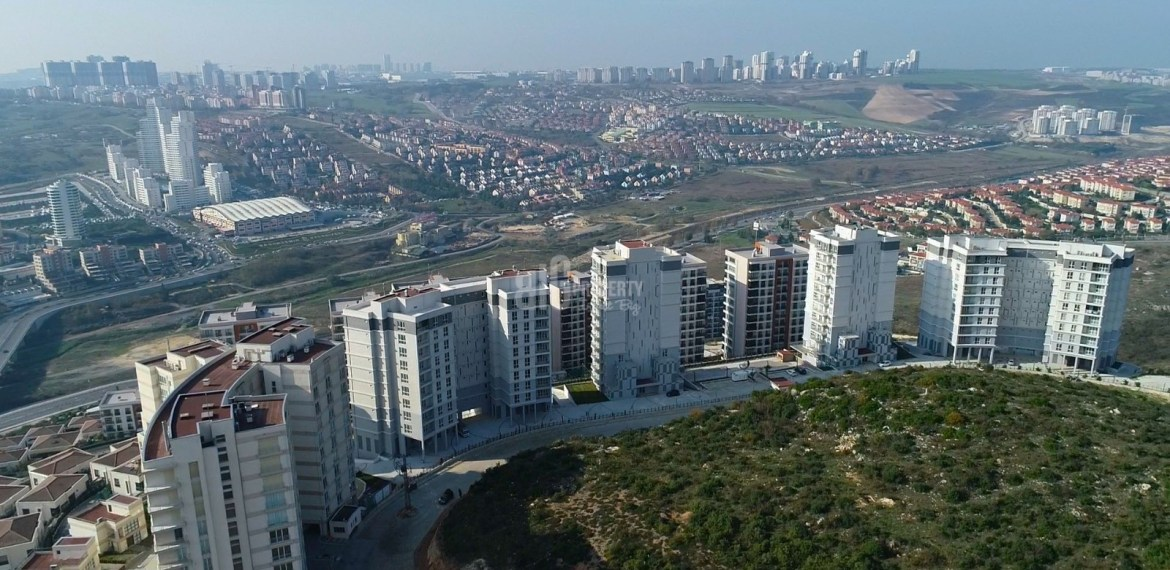 buying home in turkey sky bahcsehir Key ready natural elit project for sale Basaksehir Istanbul