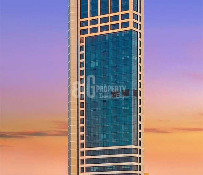 iconic tower properties in city center for sale in sisli istanbul turkey