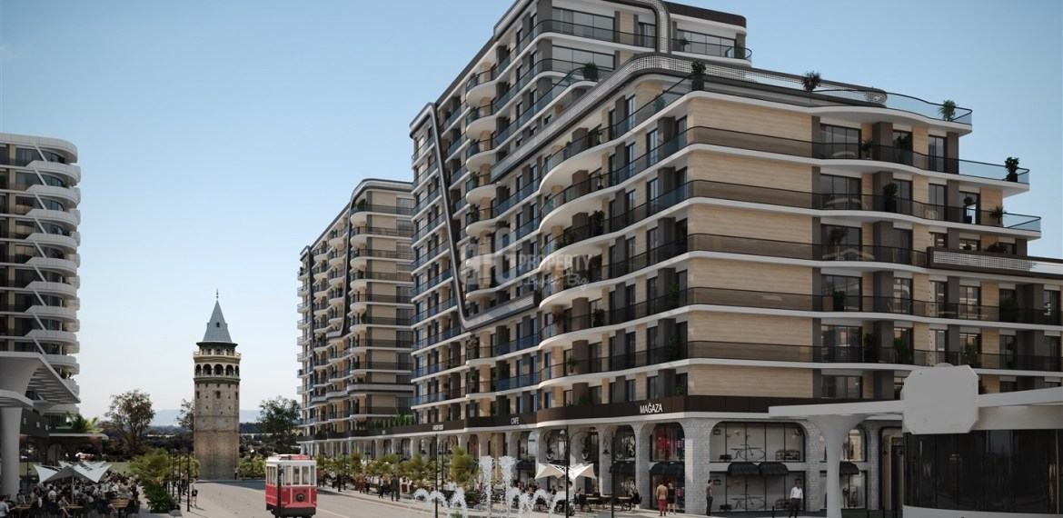 tukish citizenship 3 rooms apartments in beylikduzu demir country project by big propety agency