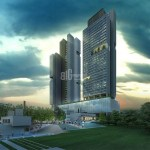 Ultra High Quality flats for sale with horizon Bosphorus sea view in Istanbul Taksim