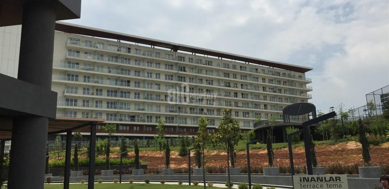 Dumankaya konsept horizontal arthitectural property apartment with green garden