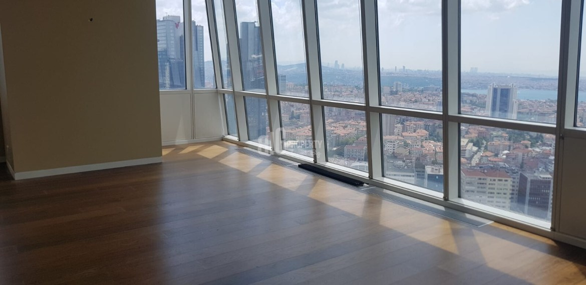 Trump Tower luxury flats for sale in city centre istanbul