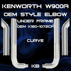 dynaflex kenworth 8 inch exhaust big