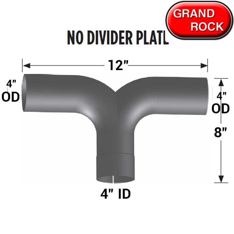5 id od chrome 90 degree exhaust elbow