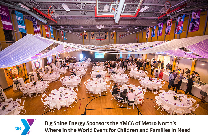 Big Shine Energy Sponsors YMCA's Where in the World Event
