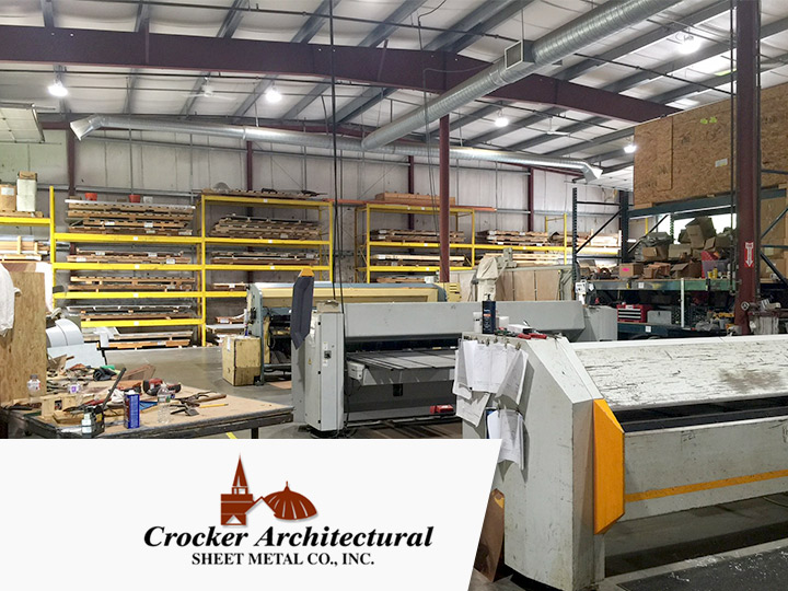 Crocker architectural has replaced their inefficient lighting with all new led lighting from big shine energy using the 150w satellite hd 13w t8 led tubes