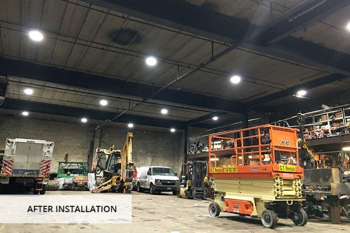 Big Shine Energy - Trocom Construction Corporation