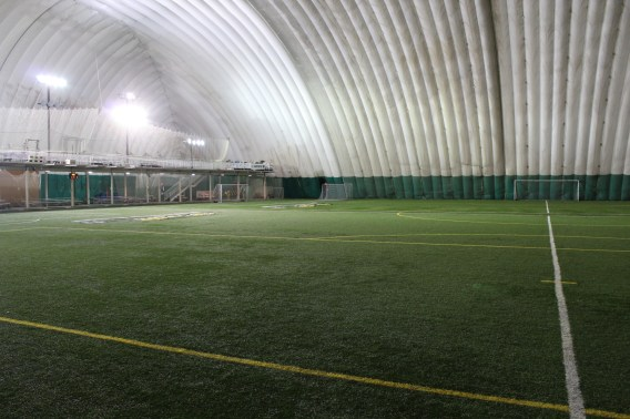 Glacier Ridge Sports Park has LED lighting from Big Shine Energy.