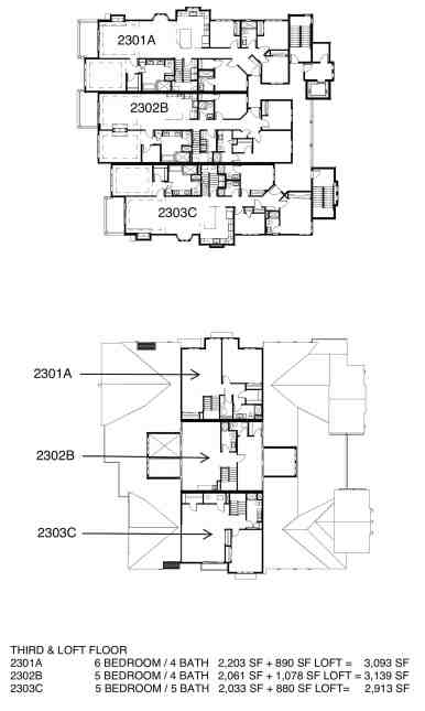 Lodges FLOOR PLANS w Pricing-3