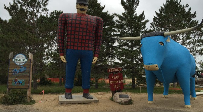 The Great River Road, Part 1: Itasca SP to Grand Rapids, MN