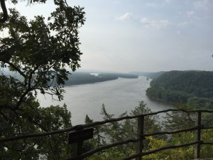 View from the Effigy Mounds