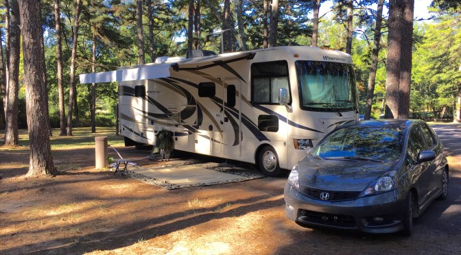Campground Review:  Petit Jean SP, AR