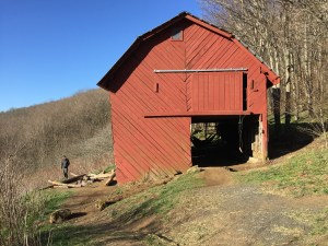 Overmountain Shelter Up Close