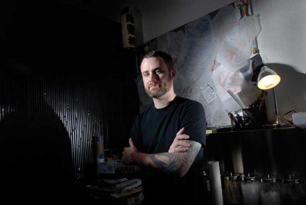 Chris ODonnell NY King Artist Interview Big Tattoo