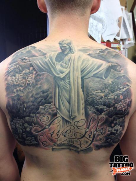 Jane Mosley Black And Grey Tattoo Big Tattoo Planet