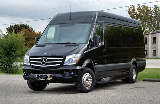 mercedes-party-van